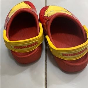Toddler Iron Man Crocs